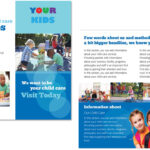 Child Care Brochure Template 4 Intended For Daycare Brochure Template