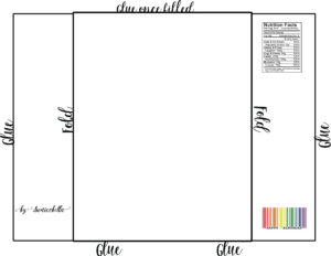 Chip Bag Template / Free Enjoy ! | Gifts | Chip Bags, Candy pertaining to Blank Candy Bar Wrapper Template For Word