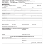 Chiropractor's X-Ray Report (Form 11Rc) within Chiropractic X Ray Report Template