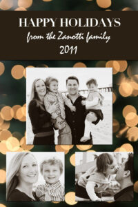 Chloe Moore Photography | Free Christmas Card Templates with Holiday Card Templates For Photographers