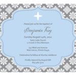 Christening Invitation Blank Template   Baptism Invitations For Blank Christening Invitation Templates