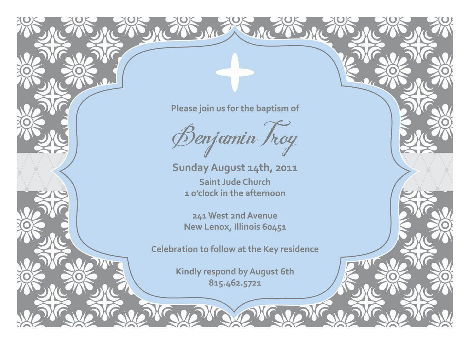 Christening Invitation Blank Template | Baptism Invitations For Blank Christening Invitation Templates