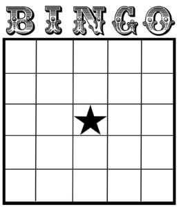 Christine Zani: Bingo Card Printables To Share | Reading pertaining to Blank Bingo Template Pdf