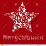 Christmas Card Design Stock Vector. Illustration Of Event With Adobe Illustrator Christmas Card Template