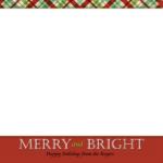 Christmas Card Template Simple | Card Design | Christmas For Happy Holidays Card Template