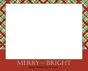 Christmas-Card-Template Simple | Card Design | Christmas for Happy Holidays Card Template