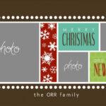 Christmas Card Templates For Photoshop | Template Business Throughout Christmas Photo Card Templates Photoshop