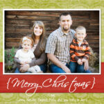Christmas Card Templates Photoshop Free Download Penaime With Free Photoshop Christmas Card Templates For Photographers