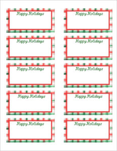 Christmas Gift Tag Template Editable – Wovensheet.co for Free Gift Tag Templates For Word