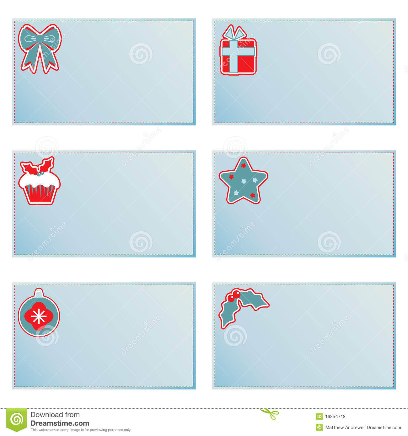 Christmas Note Cards Stock Vector. Illustration Of With Regard To Christmas Note Card Templates