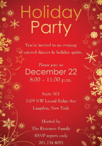 Christmas Party Invitation Backgrounds Free | Party pertaining to Free Christmas Invitation Templates For Word