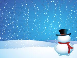 Christmas Snow Powerpoint Templates,,free Religious within Snow Powerpoint Template