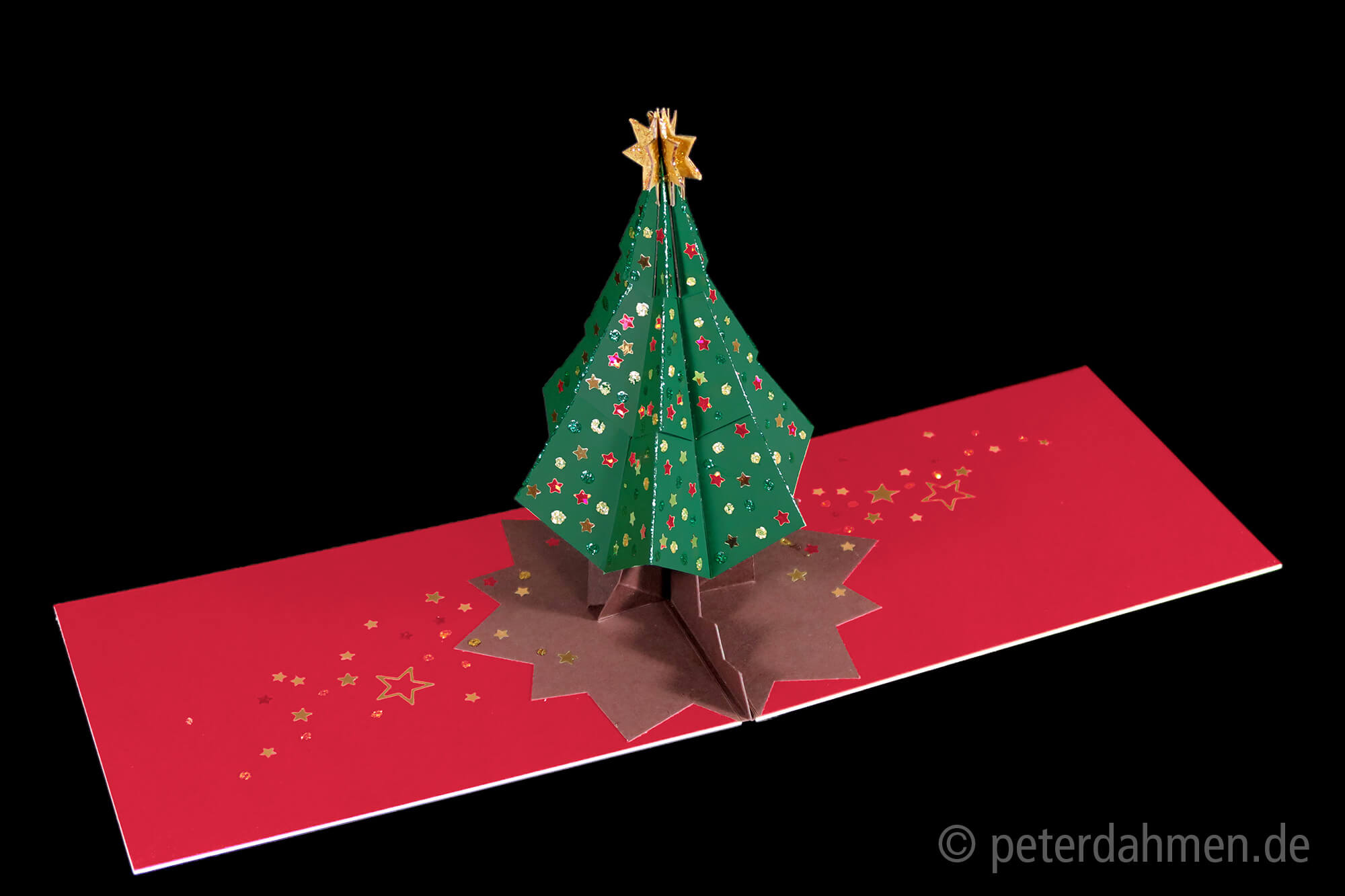Christmas Tree – Peter Dahmen With Regard To Pop Up Tree Card Template