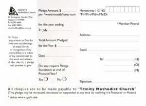 Church Pledge Card Template | Template Modern Design throughout Church Pledge Card Template