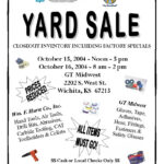 Church Yard Sale Flyer | Gt Midwest: Garage Sale | Projects For Yard Sale Flyer Template Word