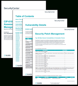 Cip-010 R3 Vulnerability Assessment And Patch Management inside Reliability Report Template