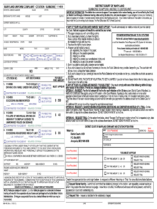 Citations Blank – Fill Online, Printable, Fillable, Blank inside Blank Speeding Ticket Template