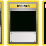 Classic Trainer With Expanded  And Full Art Blanks For Pokemon Trainer Card Template