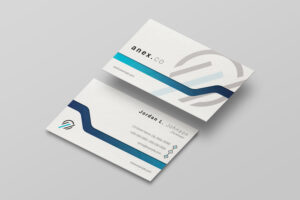 Clean Business Card Template | Professional Business Card pertaining to Professional Name Card Template