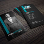 Clean, Dark Exit Realty Business Card Design For Realtors Within Real Estate Agent Business Card Template