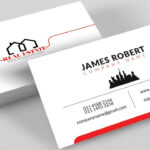 Clean Illustrator Business Card Design With Free Template Download regarding Visiting Card Illustrator Templates Download
