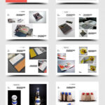 Clean Product Catalog | Catalog Ideas | Catalog Design For Product Brochure Template Free
