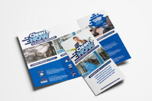 Cleaning Service Trifold Brochure Template In Psd, Ai inside Commercial Cleaning Brochure Templates