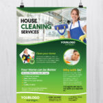 Cleaning Services – Download Free Psd Flyer Template – Free Inside Cleaning Brochure Templates Free