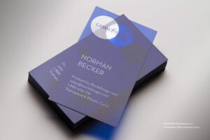 Clear Business Cards pertaining to Transparent Business Cards Template