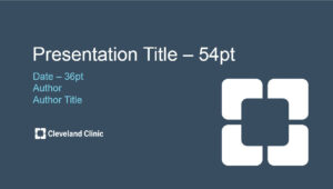 Cleveland Clinic Powerpoint Template « Cleveland Clinic Onbrand regarding Radiology Powerpoint Template