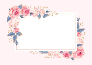Climbing Roses – Rsvp Card Template (Free | What I Like In intended for Free Printable Blank Greeting Card Templates