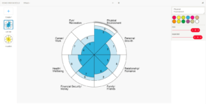 Coaching Tools for Wheel Of Life Template Blank