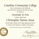 College Diploma Template Pdf   Diploma   College Diploma For Free School Certificate Templates