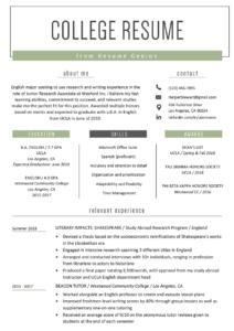 College Student Resume Sample & Writing Tips | Resume Genius inside College Student Resume Template Microsoft Word