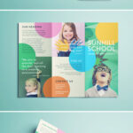 Colorful School Brochure – Tri Fold Template | Download Free With Regard To Play School Brochure Templates