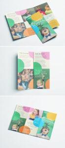 Colorful School Brochure – Tri Fold Template | Download Free with Tri Fold School Brochure Template
