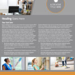 Commercial Cleaning Solutions Flyer Template Within Commercial Cleaning Brochure Templates