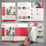 Company Brochure Template Vol.1 On Student Show With Regard To Student Brochure Template