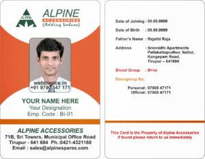 Company Id Card Format Design – Hizir.kaptanband.co inside Sample Of Id Card Template