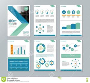 Company Profile Annual Report Brochure Flyer Page Layout throughout Annual Report Template Word