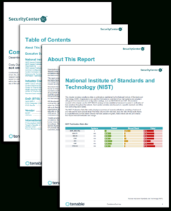 Compliance Summary Report – Sc Report Template | Tenable® for Pci Dss Gap Analysis Report Template