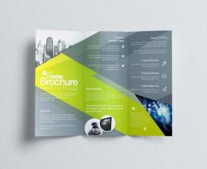 Computer Science Brochure Templates Design Free Download inside Free Brochure Template Downloads