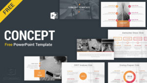 Concept Free Powerpoint Presentation Template – Free with Free Powerpoint Presentation Templates Downloads