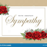 Sympathy Card Template