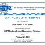 Conference Attendance Certificate Samples Fresh Template In Certificate Of Participation In Workshop Template