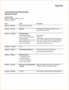 Conference Call Agendaate Word One Day Event Program Agenda throughout Event Agenda Template Word