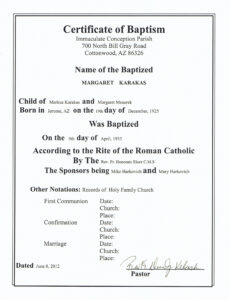 Confirmation Certificate 50 Box Mpn Xb104 Certificates pertaining to Roman Catholic Baptism Certificate Template