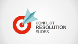 Conflict Resolution Powerpoint Template | Diagrams with regard to Powerpoint Template Resolution