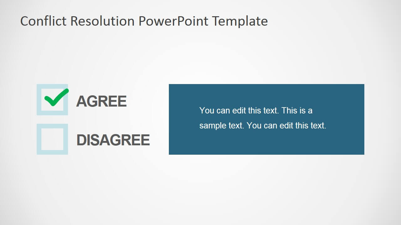 Conflict Resolution Powerpoint Template For Powerpoint Template Resolution