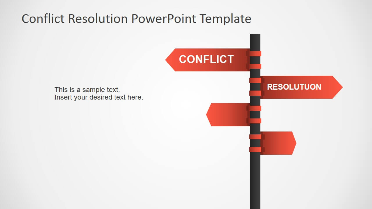 Conflict Resolution Powerpoint Template Inside Powerpoint Template Resolution